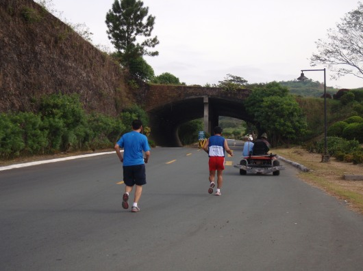Out the Binangonan tunnel