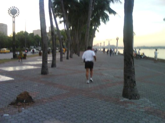 Back to the promenade