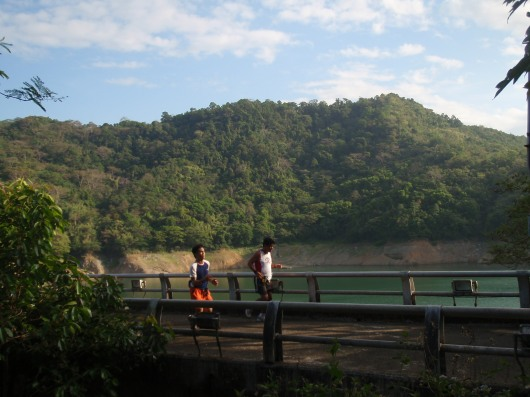 At the foot of another dam, the Ipo Dam