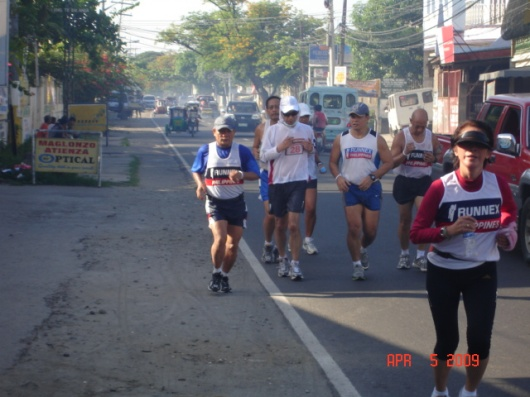 Glenda, a nurse leading the pack, while two doctors, Doc Lito and Doc Benny are at Norio's leftside.