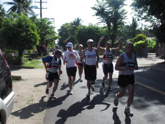 Norio san and his pacers at Balanga