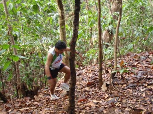 We wanted to reach the mangroves so we sneaked in a different path