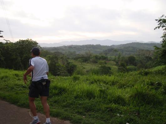 Scenic mountain vista