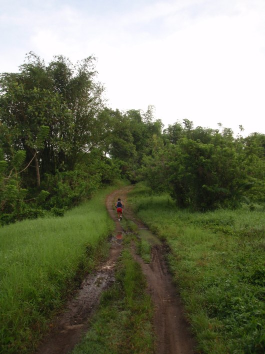 Towards the inner sanctum of the trail