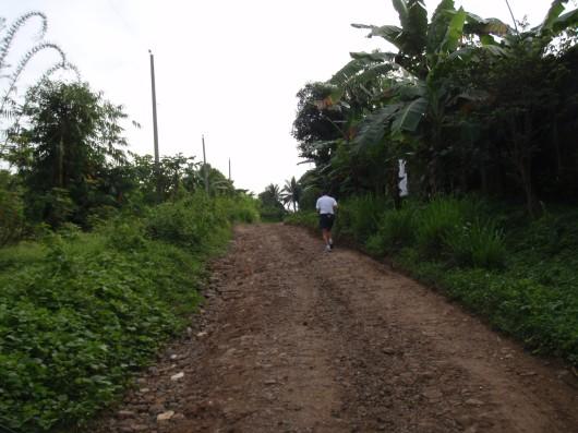 Another stony uphill