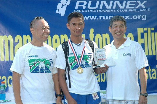 Over-all Champion, Bernardo Desamito of Team Baldrunner