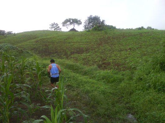 Running up valleys