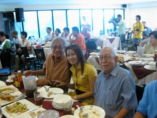 Atty. Romy Mendoza, Meriam and Direk Trinidad