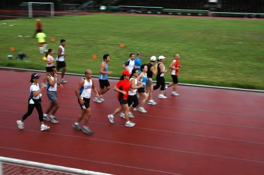 Enjoying the faster paced runs
