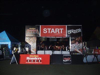 Start and Finish Area