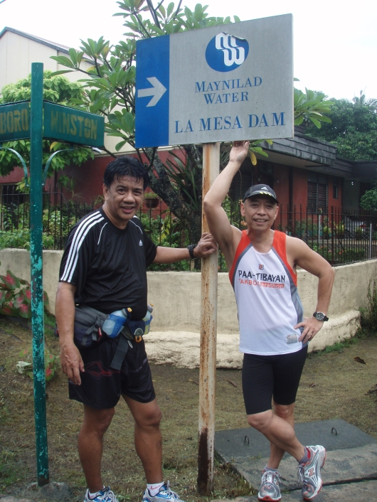 At this juncture, we decided to make a side trip inside the LaMesa Dam Eco-Park