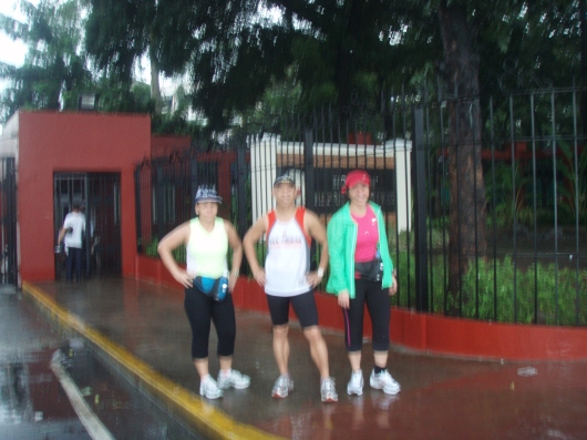 Posing at the entrance of Batasang Pambansa