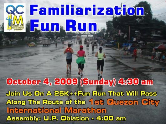 Practice Run: QCIM Route