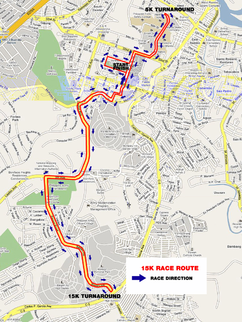 The 15k Route