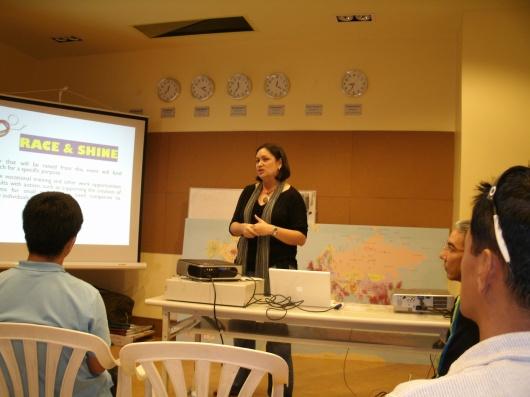 Rhea Joaquin-Primavera of the Let It Shine Foundation