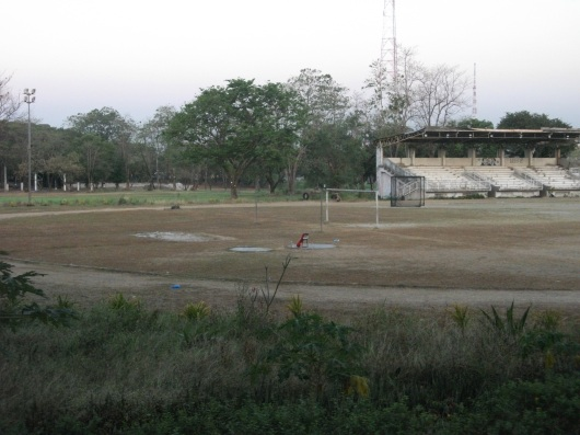 The dirt track